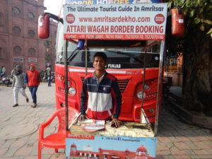 インド アムリトサル バス