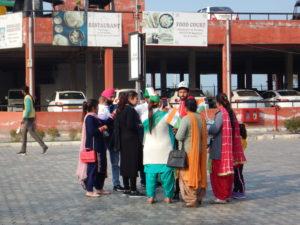 インド アムリトサル ワガ国境