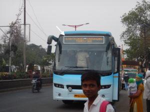 インド アジャンタ バス
