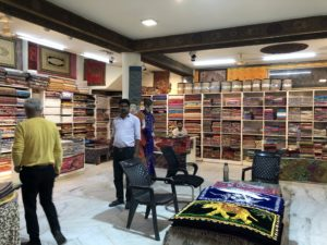 インド ジャイプール 布屋