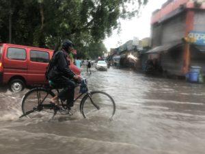 インド ジャイプール 雨季