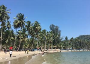 アンダマン諸島 ポートブレア ビーチ