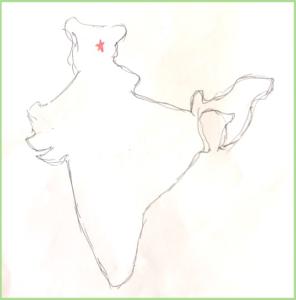 インド ラダック 地図