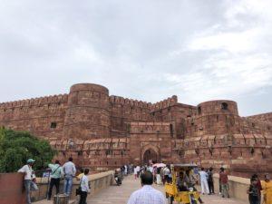 インド アグラ アグラ城