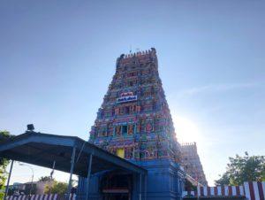 インド チェンナイ ヒンズー教寺院