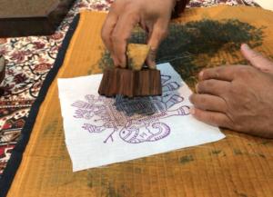 インド ブロックプリント
