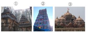 ヒンドゥー教寺院 比較